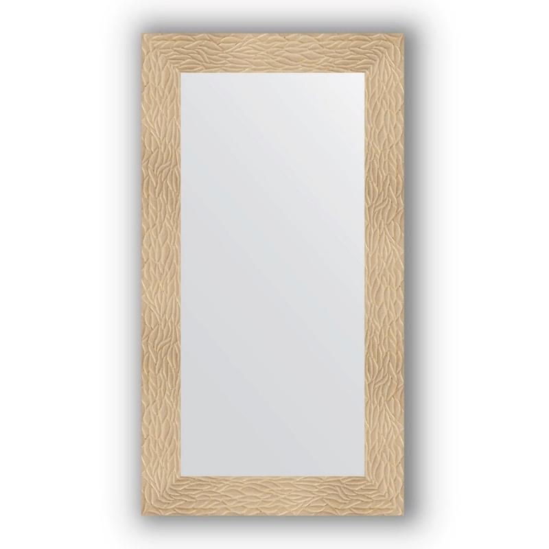 Зеркало Evoform Definite 110х60 Чеканка золотая
