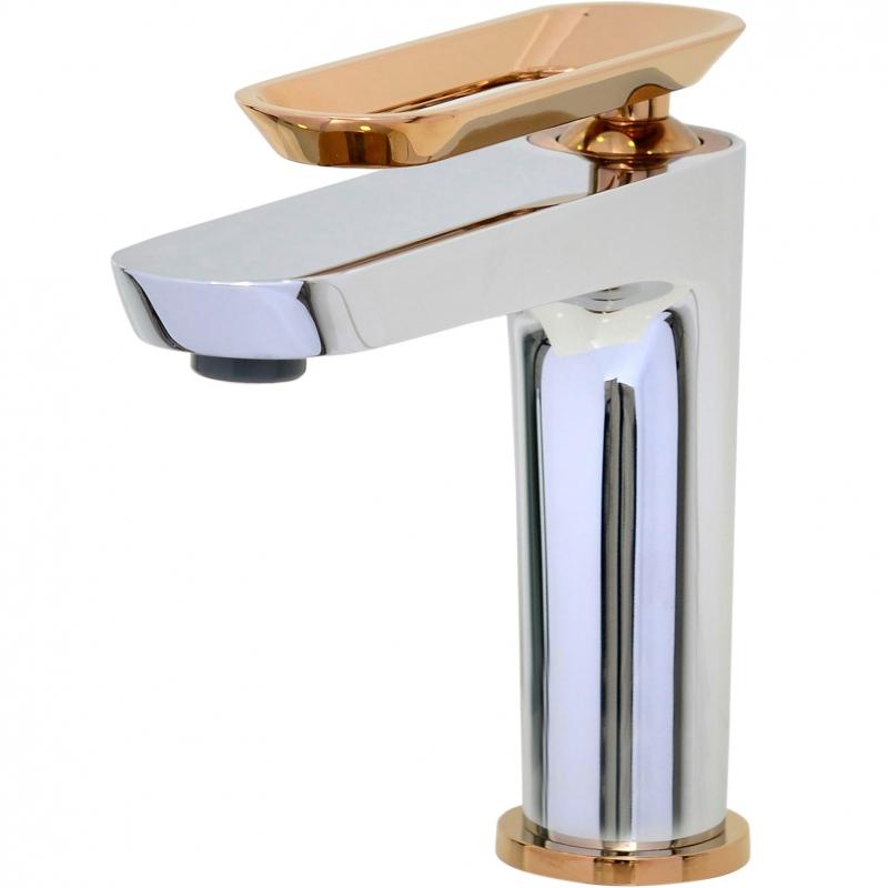 Фото - Смеситель для раковины Bien Hermes BL11009402 Хром Розовое золото смеситель для кухни bien hermes be11009408 хром розовое золото