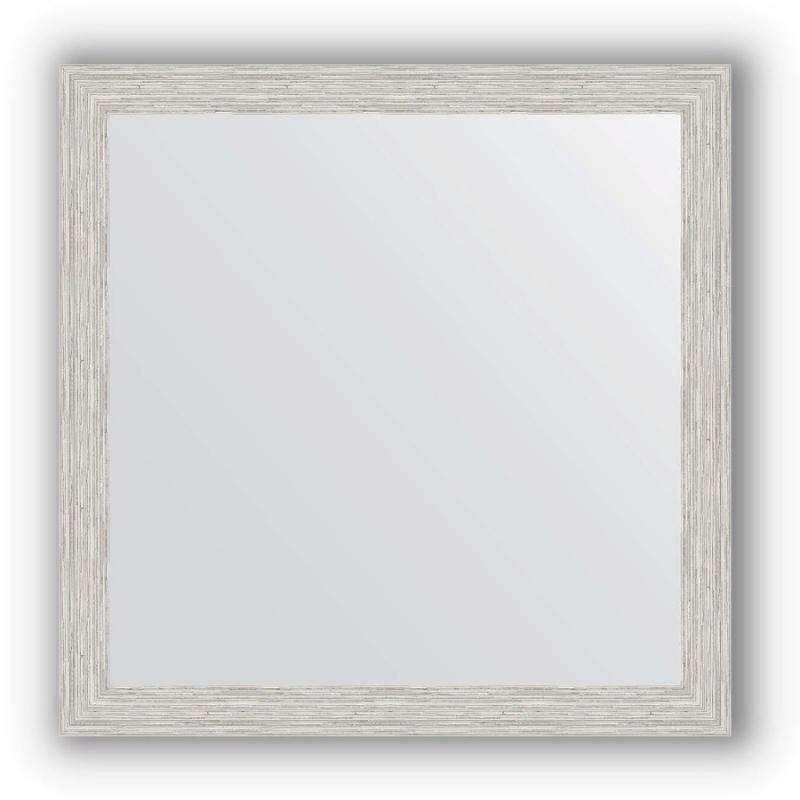Зеркало Evoform Definite 61х61 Волна алюминий