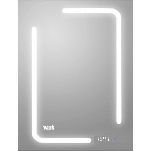 Зеркало WeltWasser Marc 60x80 с подсветкой 10000000965 Хром