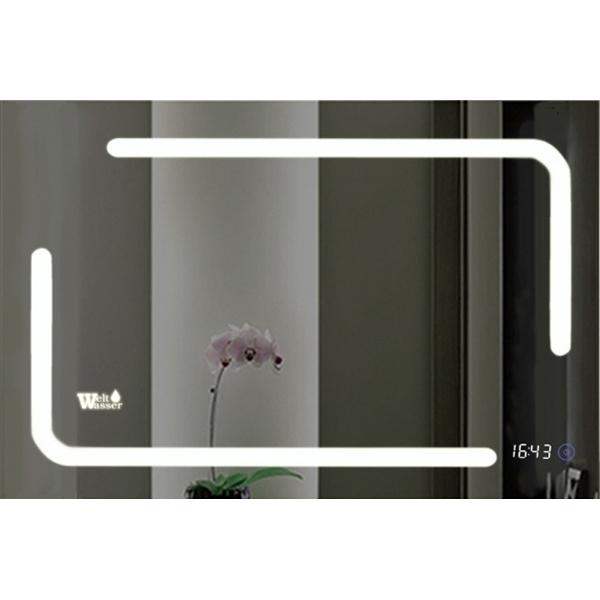 Зеркало WeltWasser Marc 100x80 с подсветкой 10000000966 Хром