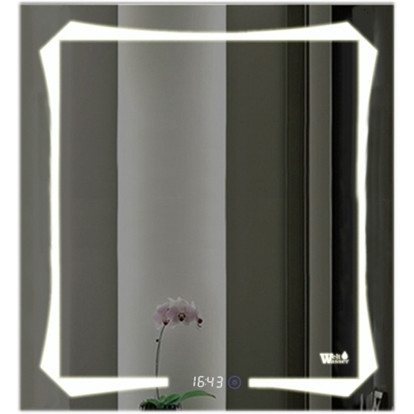 Зеркало WeltWasser Otto 60x80 с подсветкой 10000000968 Хром