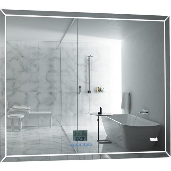 Зеркало WeltWasser Lanzo 80x60 с подсветкой с динамиками и многофункциональной системой Хром зеркало weltwasser lanzo 80x60 с подсветкой с динамиками и многофункциональной системой хром