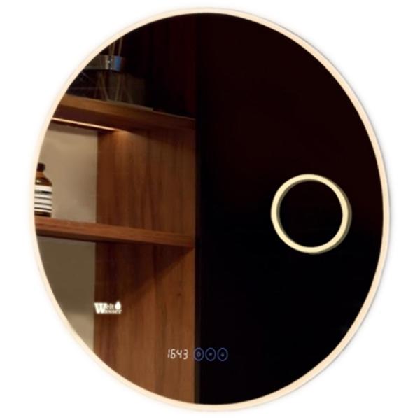 Зеркало WeltWasser Aurel 80 с подсветкой 10000000981 Хром