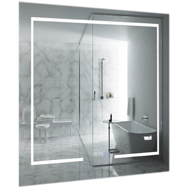 Зеркало WeltWasser Bruno 60x80 c подсветкой 10000000973 Хром