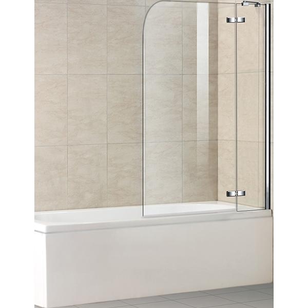 Шторка на ванну WeltWasser WW100 D2 100 10000001225 профиль Хром стекло прозрачное фото