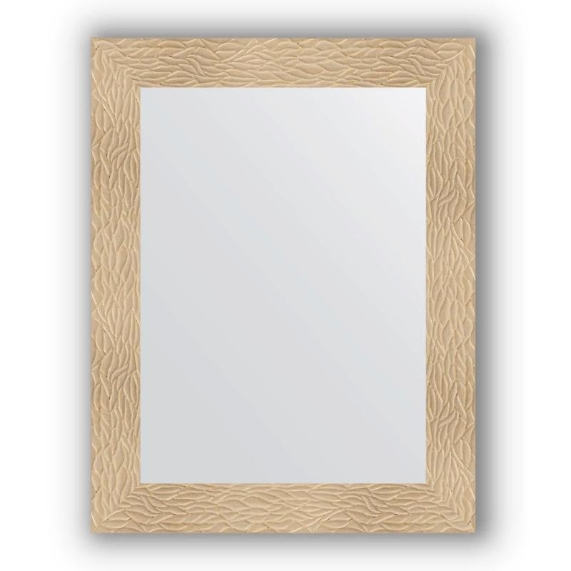 Зеркало Evoform Definite 90х70 Чеканка серебряная