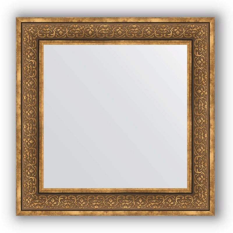 Зеркало Evoform Definite 73х73 Вензель серебряный зеркало в багетной раме evoform definite 73x73 см вензель серебряный 101 мм by 3160