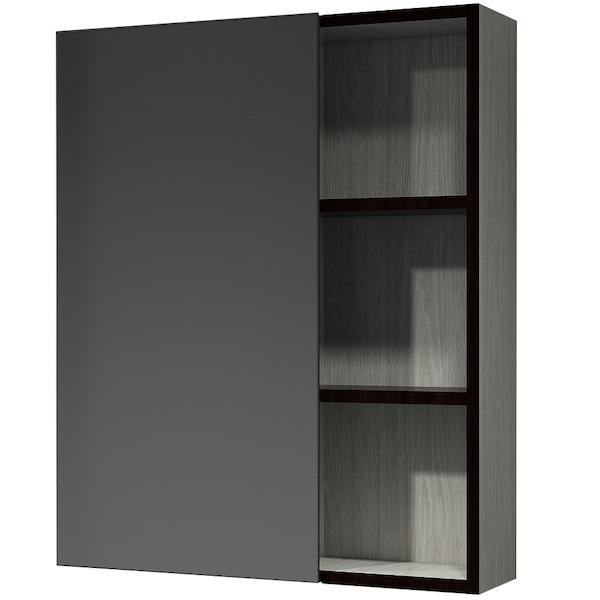 Зеркальный шкаф Какса-А Винтер 55 003793 Бежево-белый зеркальный шкаф какса а сити 105 004418 подвесной серый гранит