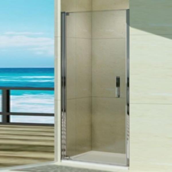 Душевая дверь в нишу WeltWasser WW600 K1 90 10000002732 профиль Хром стекло прозрачное