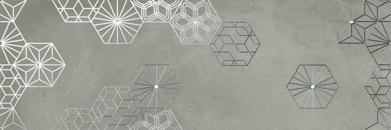 Керамический декор Ibero Cromat-One Debod Grey B 25х75 см керамический декор ibero cromat one debod taupe b 25х75 см