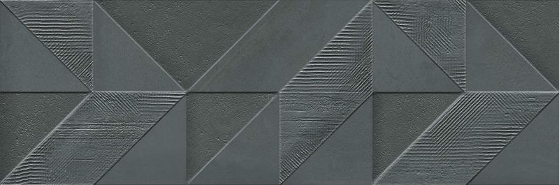 Керамический декор Ibero Cromat-One Delice Carbon 25х75 см