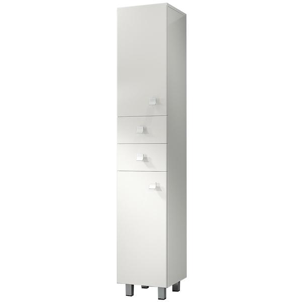 Шкаф пенал Какса-А Домино 30 003057 Белый