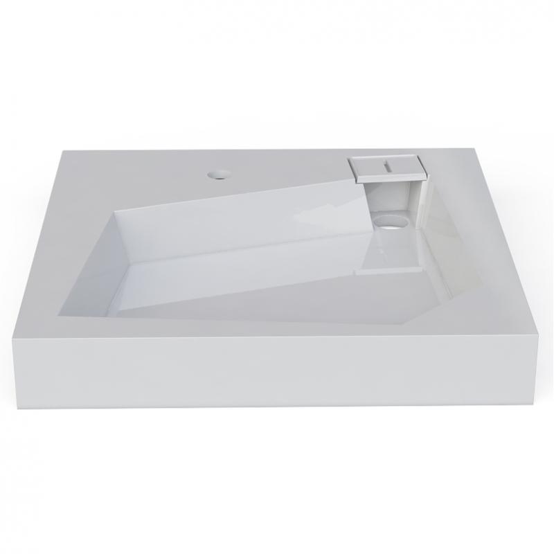 Раковина Altasan Quadro 60x60 UPP60QUADROсб на стиральную машину Белая