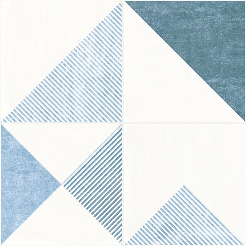 Керамогранит Novogres Laval Pav Dec Metafor Azul 50х50 см