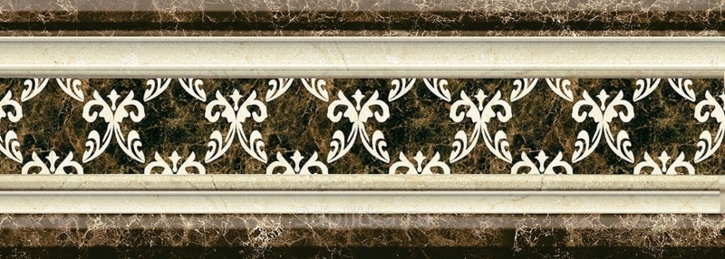 Керамический бордюр Mayolica Versailles Cenefa 10х28 см керамический бордюр mayolica versailles cenefa 10х28 см