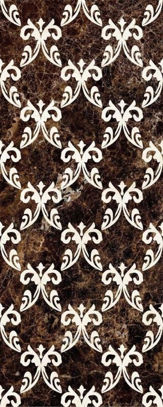 Керамический декор Mayolica Versailles Emperador 28х70 см керамический бордюр mayolica versailles cenefa 10х28 см