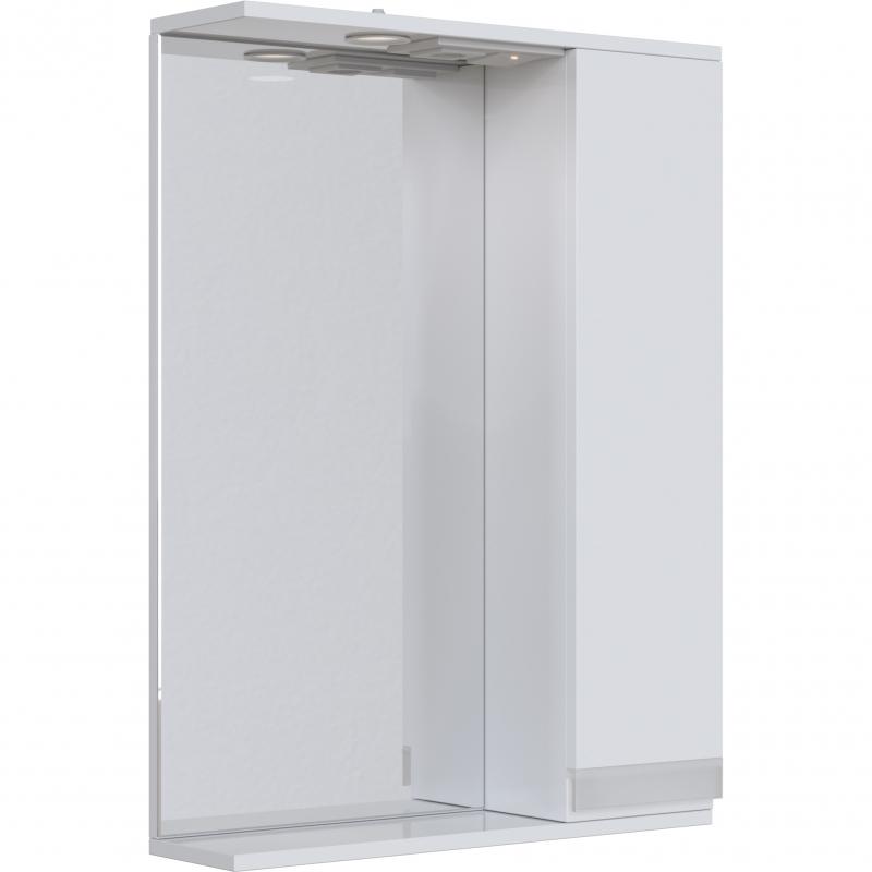 Зеркальный шкаф San Star Вита 60 R Белый подвесной шкаф san star 60 белый