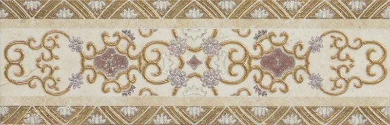 Керамический бордюр El Molino Corona Marfil 14х45 см