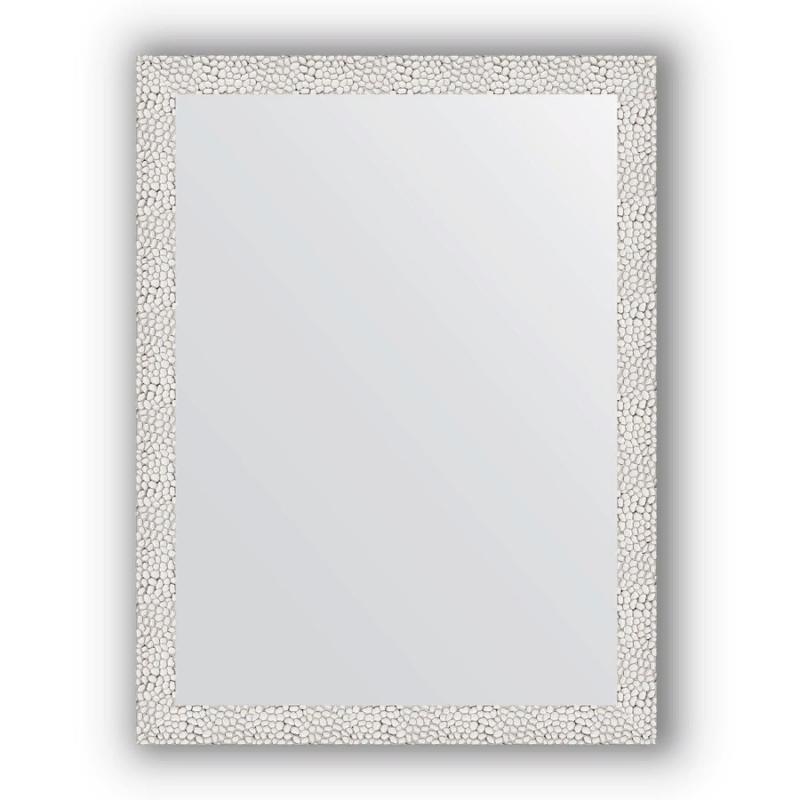 Зеркало Evoform Definite 81х61 Чеканка белая