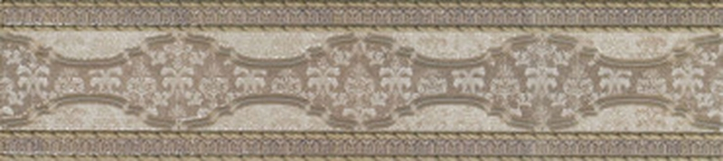 Керамический бордюр El Molino Davos Cenefa Bone №2 10х45 см