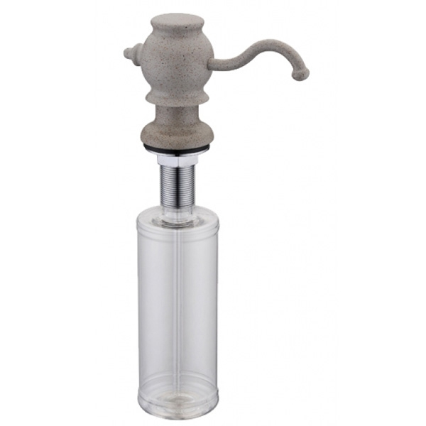 Дозатор для жидкого мыла ZorG ZR-24 ПЕСОЧНЫЙ Песочный дозатор для жидкого мыла zorg zr 24 cr хром