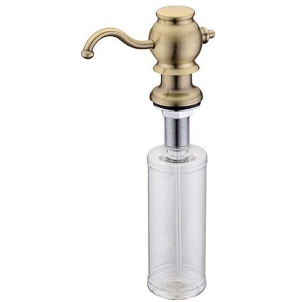 Дозатор для жидкого мыла ZorG ZR-24 BR Бронза дозатор для жидкого мыла zorg zr 24 cr хром