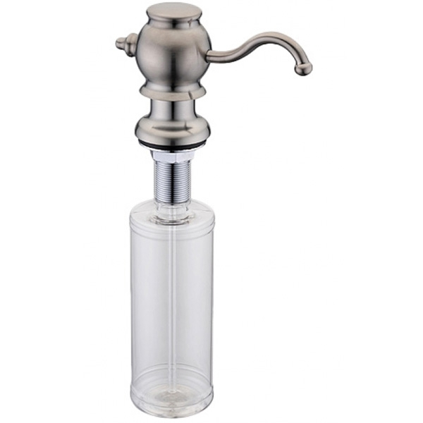 Дозатор для жидкого мыла ZorG ZR-24 STEEL Сталь дозатор для жидкого мыла zorg zr 24 cr хром