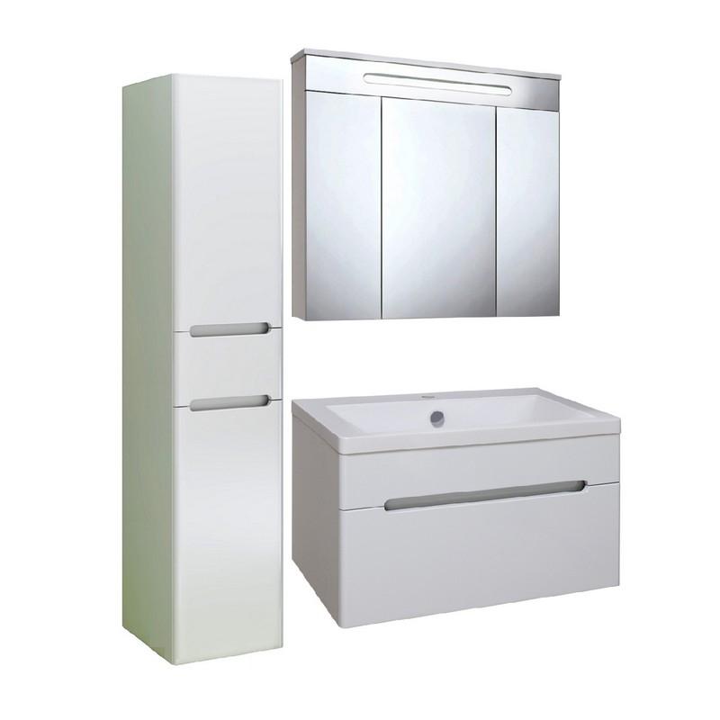 Мебель для ванной Runo Парма 75 Белая