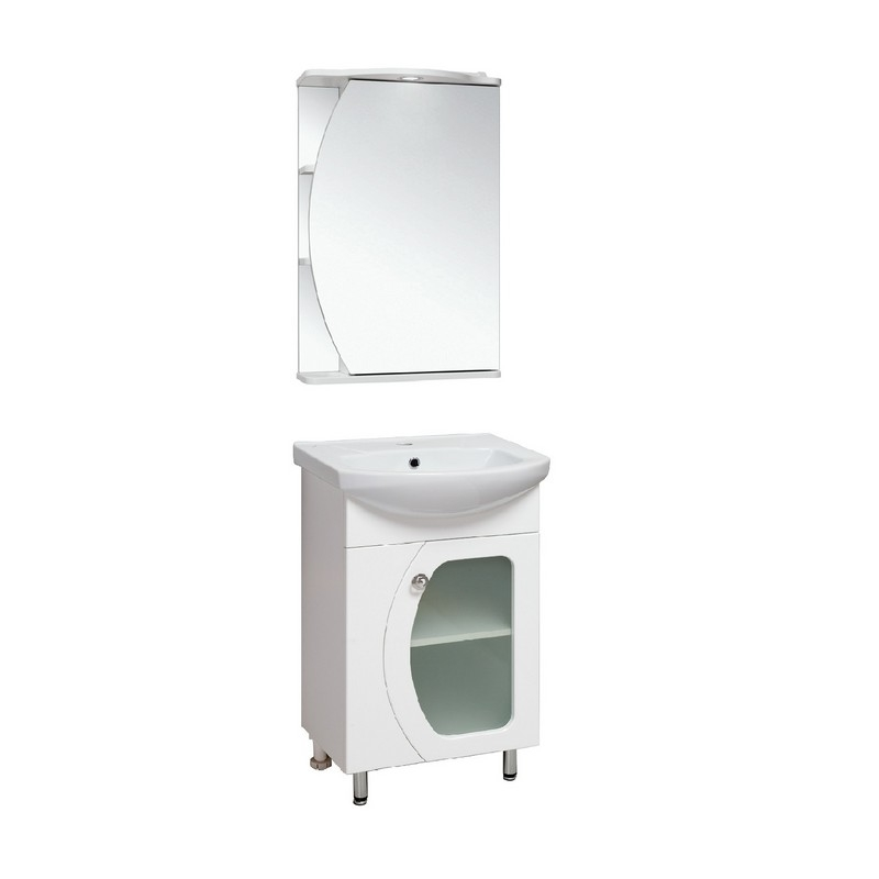 Мебель для ванной Runo Линда 50 Белая