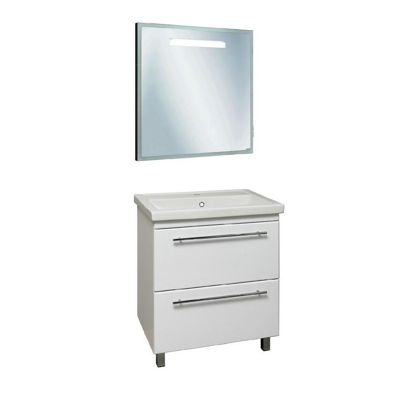 Мебель для ванной Runo Фостер 60 Белая