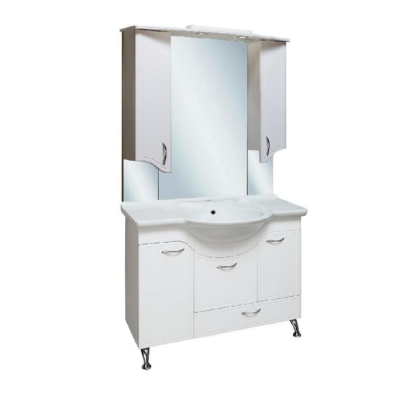 Мебель для ванной Runo Севилья 105 Белая тумба runo севилья 105 белая