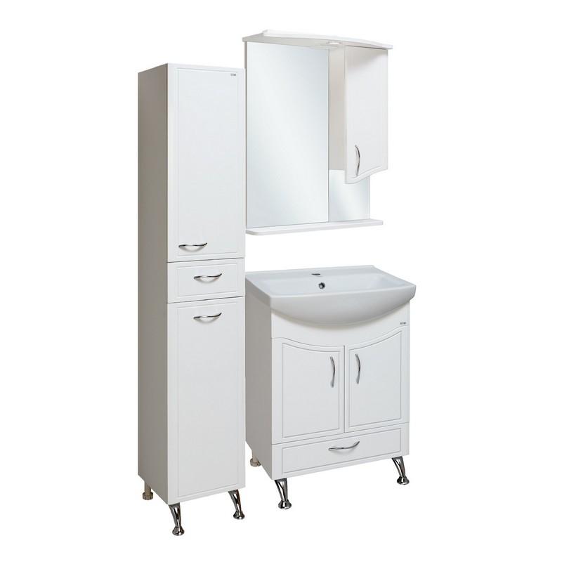 Мебель для ванной Runo Севилья 60 Белая