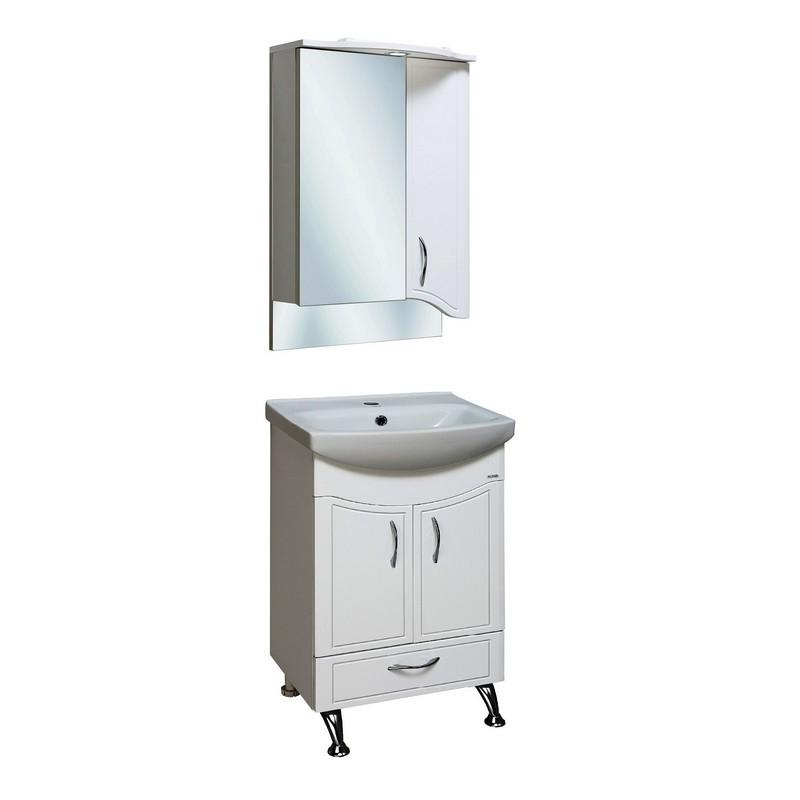 Мебель для ванной Runo Севилья 50 Белая