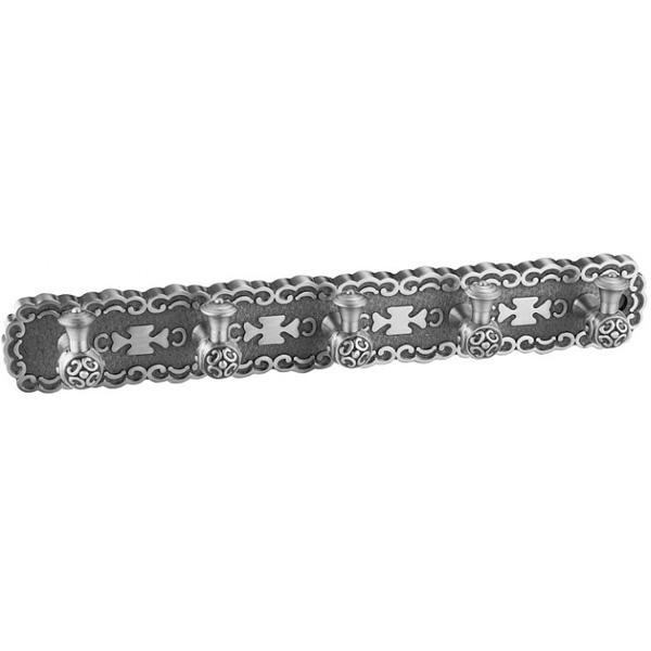 Вешалка для полотенец ZorG SL AZR 18 SL Серебро