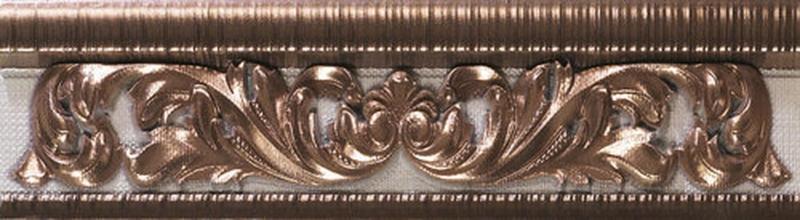 Керамический бордюр Ape Crayon Cenefa Bronze 8х31,6 см керамическая вставка ape crayon inserto bronze 10х14 см
