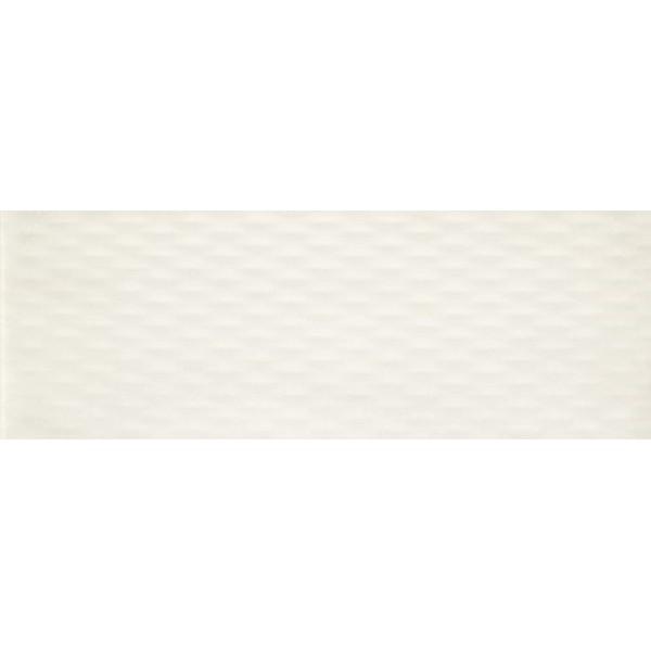 Керамическая плитка Ape Crea Illusion White настенная 30х90 см