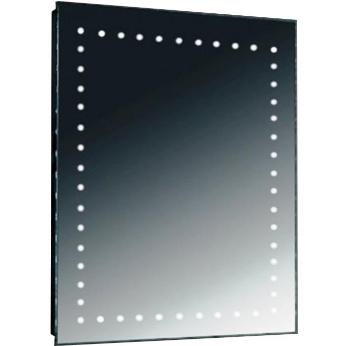 Зеркало SanVit Аквариус 60 с подсветкой с кнопочным выключателем зеркало sanvit кубэ 70 с подсветкой с сенсорным выключателем