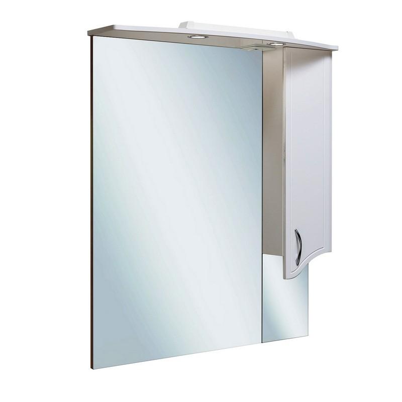 Зеркало со шкафом Runo Севилья 95 R Белое