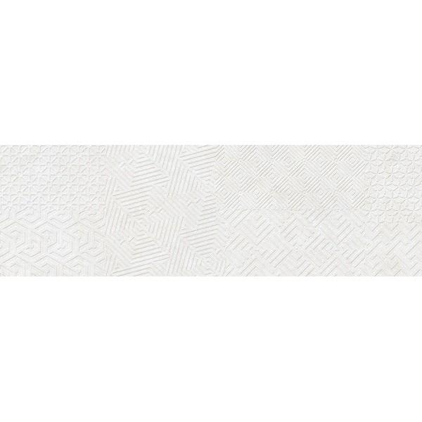 Керамическая плитка Cifre Materia Textile White настенная 25х80 см керамическая плитка cifre alchimia 2 decor glaciar настенная 7 5x30см