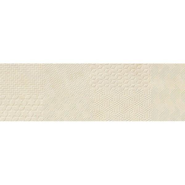 Керамическая плитка Cifre Materia Textile Ivory настенная 25х80 см керамическая плитка cifre alchimia 2 decor glaciar настенная 7 5x30см