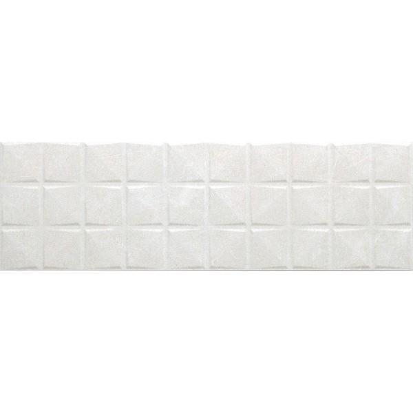 Керамическая плитка Cifre Materia Delice White настенная 25х80 см керамическая плитка cifre alchimia 2 decor glaciar настенная 7 5x30см