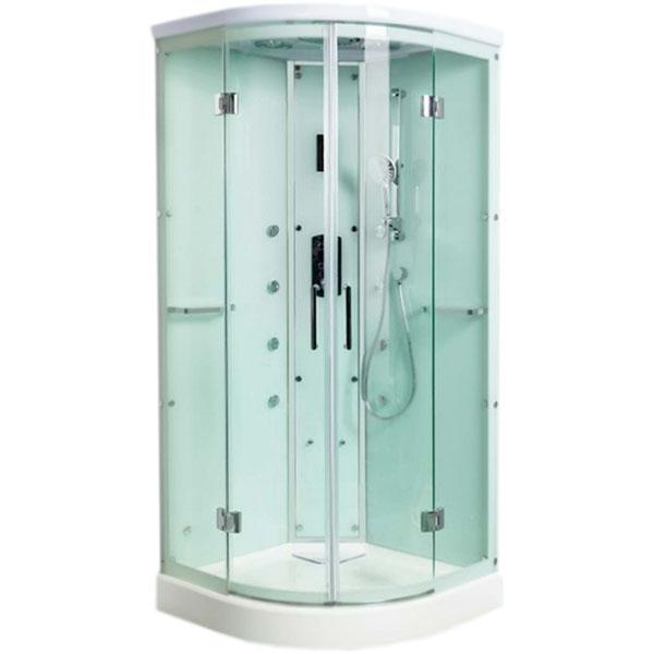 Душевая кабина WeltWasser WW1000 Waise S 100x100 10000001668 профиль Хром стекло прозрачное