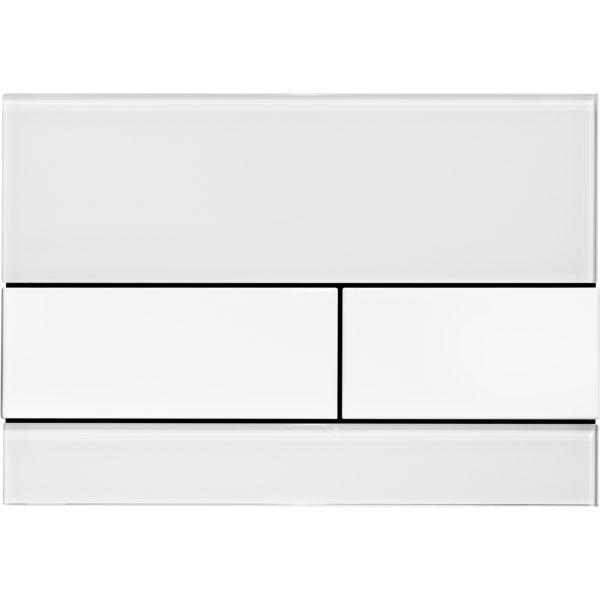 Кнопка смыва Tece Square 9240800 для унитаза Белая кнопка смыва tece square ii 9240832 для унитаза белая
