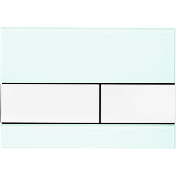 Кнопка смыва Tece Square 9240803 для унитаза Зеленая Белая кнопка смыва tece square ii 9240832 для унитаза белая