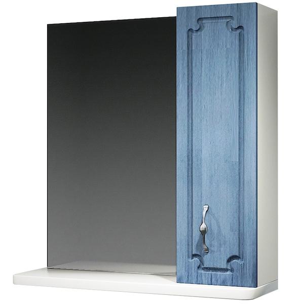 Зеркальный шкаф Какса-А Патина 65 003984 Голубой зеркальный шкаф какса а патина 83 003986 седой