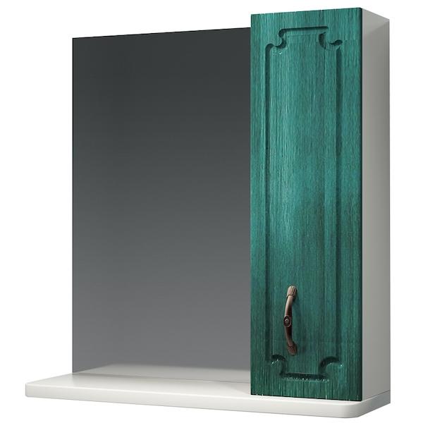 Зеркальный шкаф Какса-А Патина 65 003960 Зеленый зеркальный шкаф какса а патина 83 003986 седой