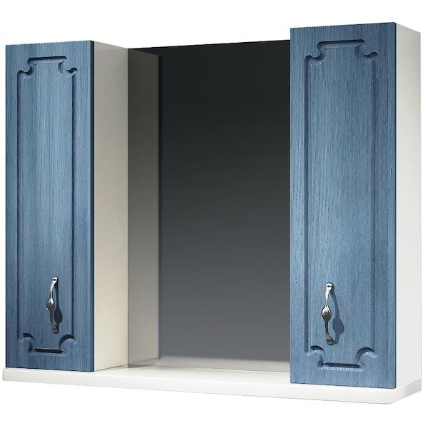 Зеркальный шкаф Какса-А Патина 83 003961 Голубой зеркальный шкаф какса а патина 83 003986 седой