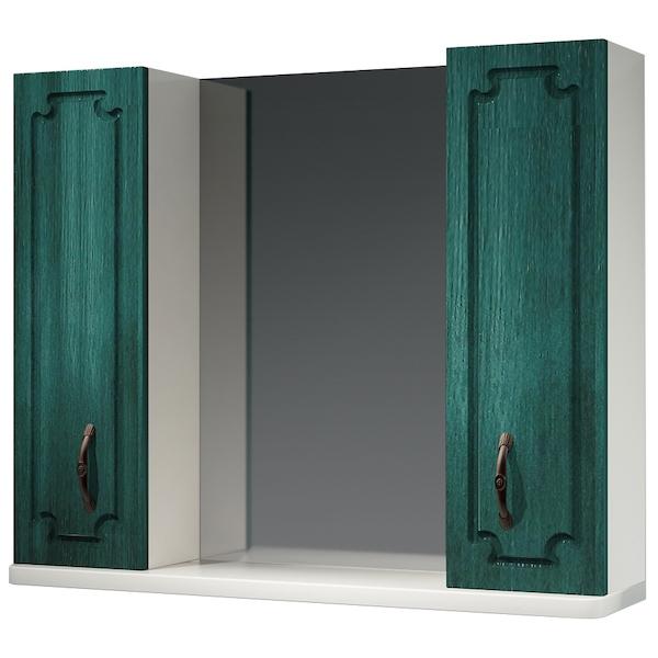 Зеркальный шкаф Какса-А Патина 83 003987 Зеленый зеркальный шкаф какса а патина 83 003986 седой