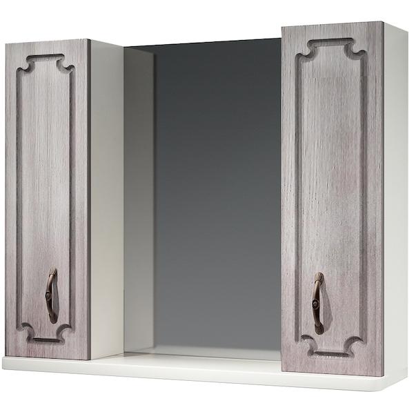 Зеркальный шкаф Какса-А Патина 83 003986 Седой зеркальный шкаф какса а патина 83 003986 седой